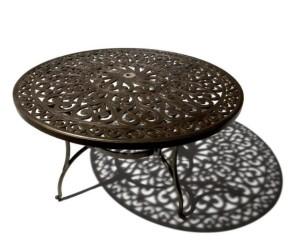 Strathwood St. Thomas Cast Aluminum Round Dining Table