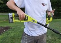 Ryobi P2008 18-Volt electric weed trimmer